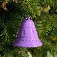 Xmas bell bis 3D model, 3d-fabric-jean-pierre