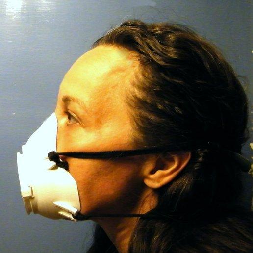 Télécharger fichier STL cute respirator mask, 3d-fabric-jean-pierre
