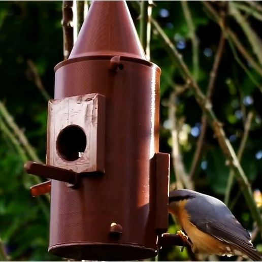 Download 3D printer model Bird feeder tube, 3d-fabric-jean-pierre