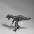 Download STL file T-rex Robot • Template to 3D print, 3d-fabric-jean-pierre