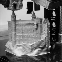 3D printer files Sanctuary of Rocamadour, 3d-fabric-jean-pierre