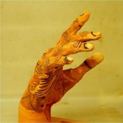 Download STL file zombie hand • Design to 3D print, 3d-fabric-jean-pierre