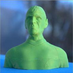 Modèle 3D Buste de Mr Spock, 3d-fabric-jean-pierre