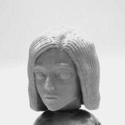 3D printer files Alita: battle angel bust version, 3d-fabric-jean-pierre