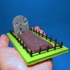 Télécharger fichier imprimante 3D tombe d' Halloween , 3d-fabric-jean-pierre