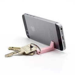stl Key ring phone holder, ffmicka