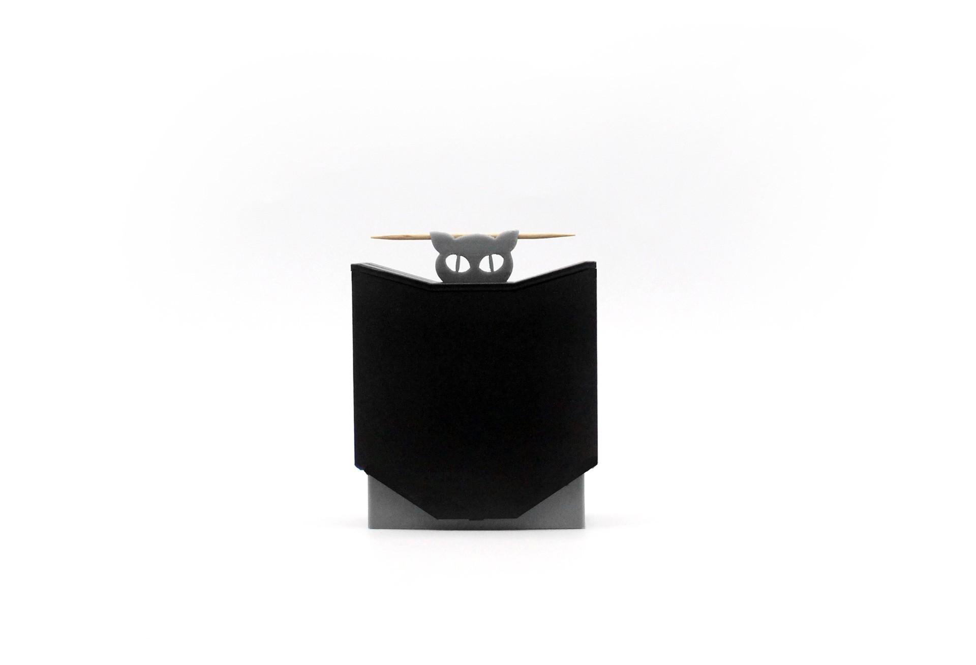 boite_magique_curedent_3dpocket_3.jpg Download STL file Magic toothpick dispenser • Object to 3D print, ffmicka