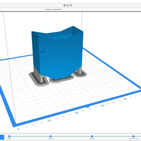 curedent_3dpocket_export2.jpg Download STL file Magic toothpick dispenser • Object to 3D print, ffmicka