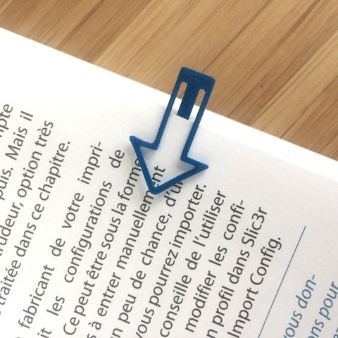 Download 3D printing designs Bookmarks and lines, ffmicka