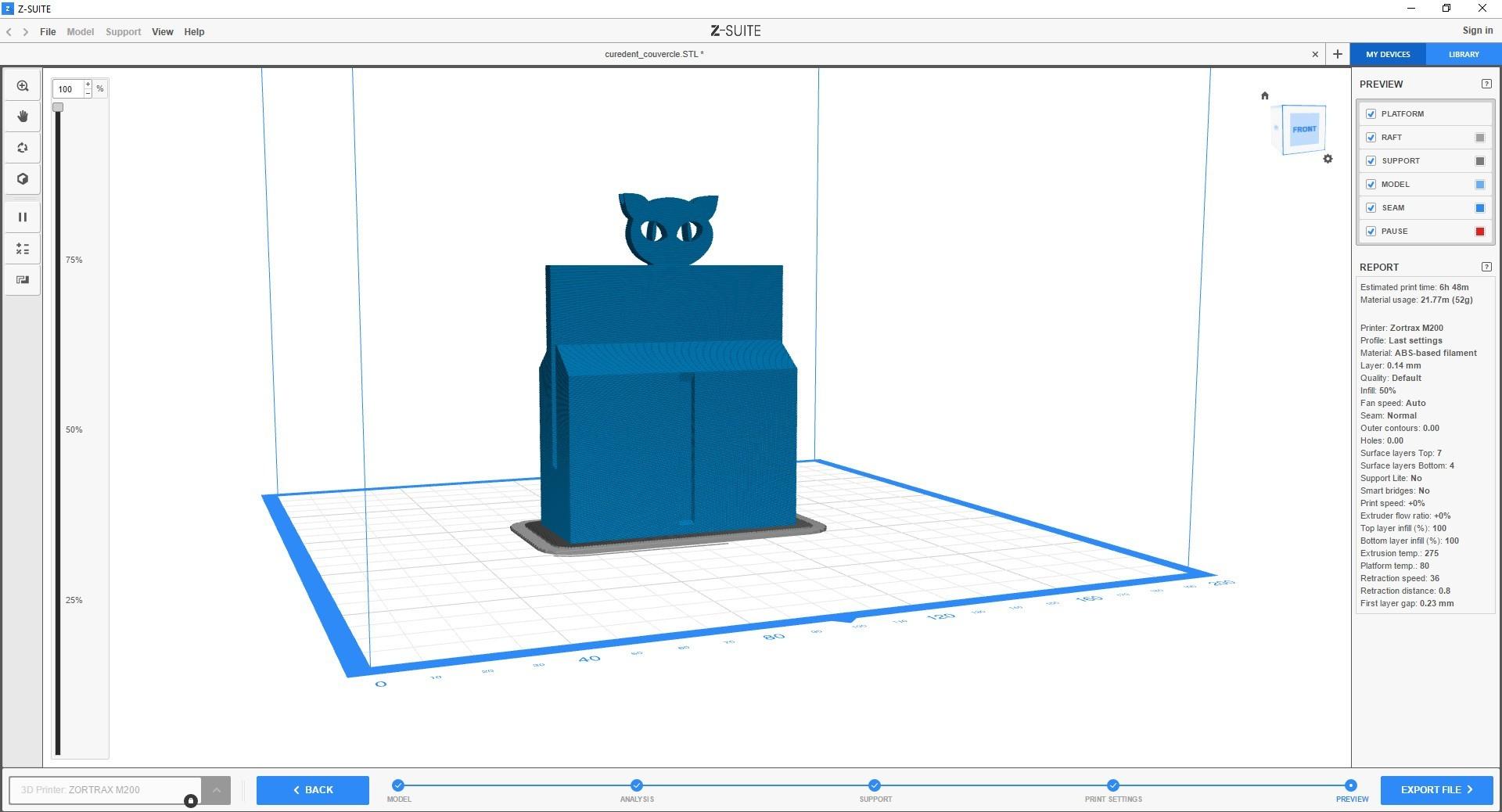 curedent_3dpocket_export1.jpg Download STL file Magic toothpick dispenser • Object to 3D print, ffmicka