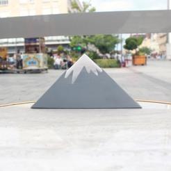 Diseños 3D Servilletero Monte Fuji, ffmicka