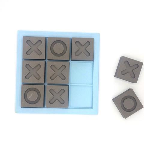 Plan imprimante 3D Jeu de réflexion Morpion, ffmicka