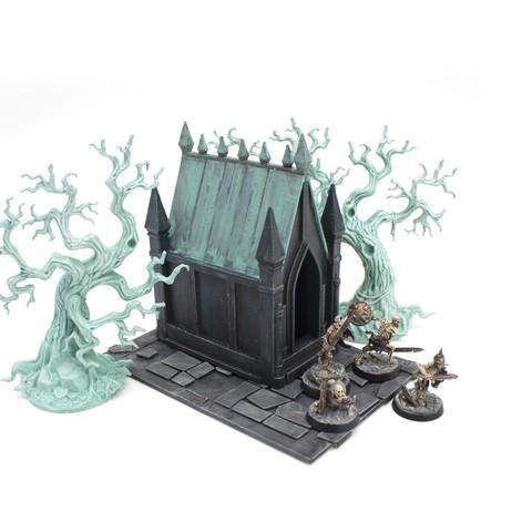 Télécharger fichier 3D Crypte pour jeux de plateau Warhammer, ffmicka