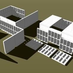 99c91354f6ec1e8c5a0c21ddfd31a680_display_large.jpg Download STL file Concrete Waffle Board • 3D printable design, RifleCreek