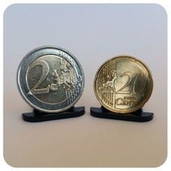 3D printer models COIN DISPLAY UNIT, Helios-Maker