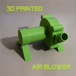 SAM_0560.JPG Download STL file Air Blower  • 3D printing design, Helios-Maker