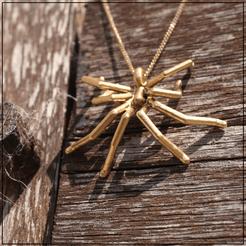 Download 3D printer designs Spider pendant, Helios-Maker