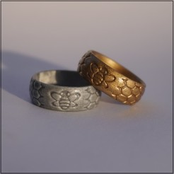 Download 3D model Bee Ring, Helios-Maker
