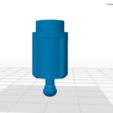 Pignon 1.png Download STL file Gable for Moulinex vintage blender • 3D printer model, Helios-Maker