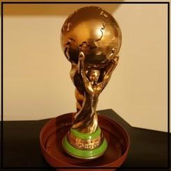 STL gratuit Réplique de Coupe du monde solide, Helios-Maker