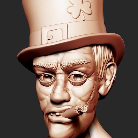 Download STL file Irish ThugLife • 3D print object, kyriakosG