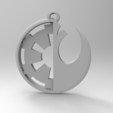 3D print files Galactic Empire vs Rebel Alliance, kyriakosG