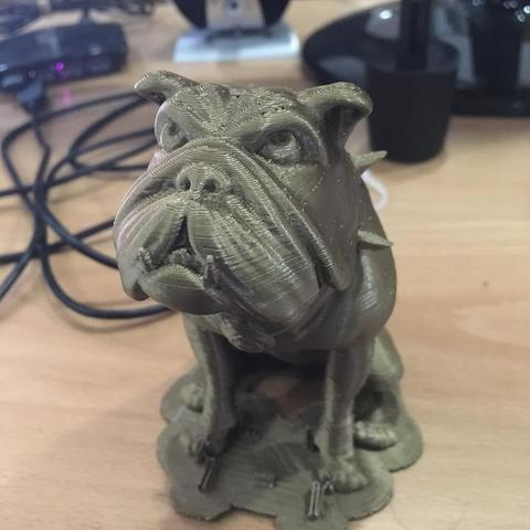 Download OBJ file My Bulldog Ralph • 3D printable object, kyriakosG