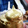 Download free STL file Slime (Gold Metal Slime) • 3D printable object, Despild