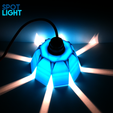 SpotLight2.png Download free STL file SPOT LIGHT • Template to 3D print, ThomasRaygasse