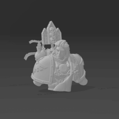 Download free 3D printer templates Sleeping Primarch, Ison