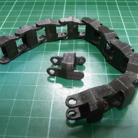 Download free STL file 86Duino Cable Chain • Object to 3D print, 86Duino