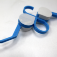 Download free 3D printing designs 86Duino travel folding hanger , 86Duino