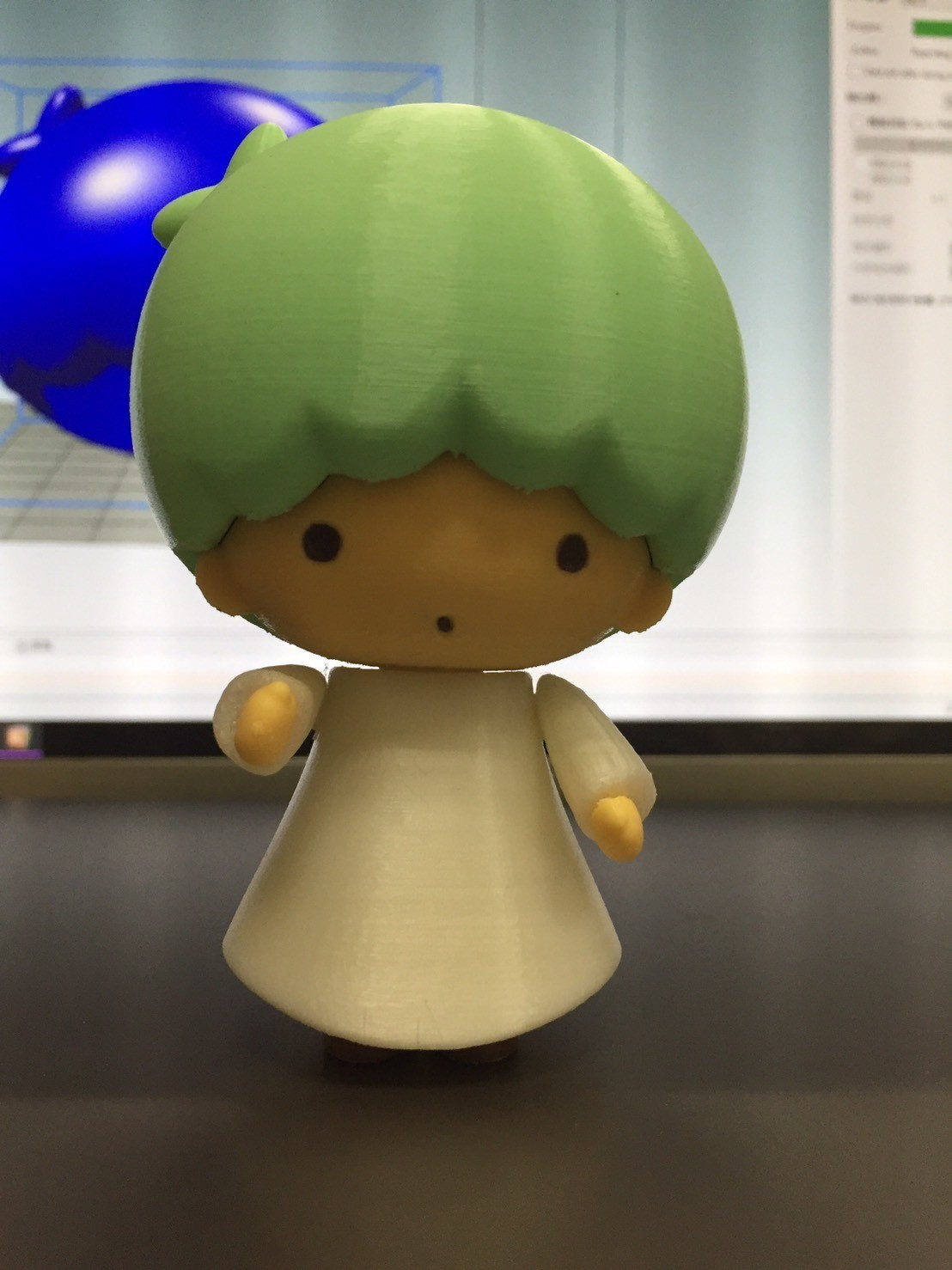 42096.jpg Download free STL file Little Twin Stars / リトルツインスターズ / 雙子星 -- Kiki(キキ) • 3D printing design, 86Duino