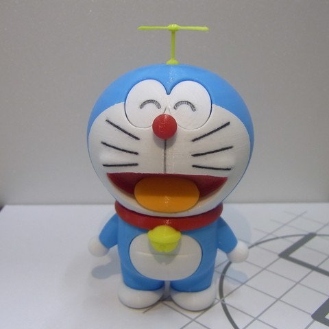 Download free STL file 86Duino Doraemon Part 2 • 3D print object, 86Duino