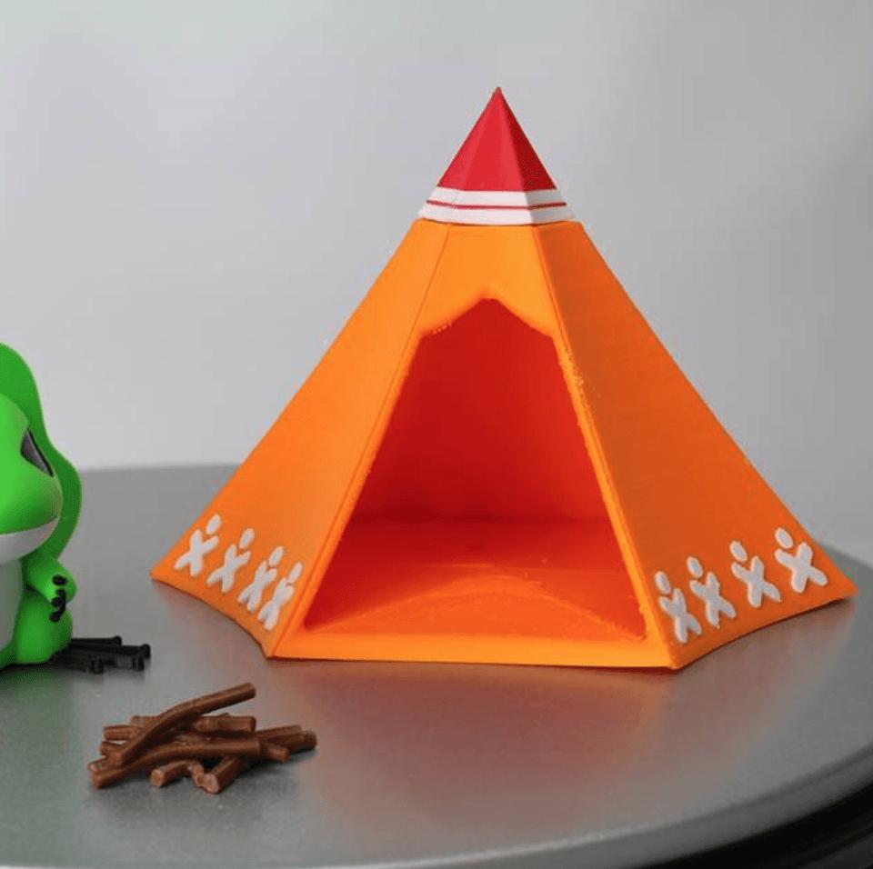 Capture d'écran 2018-02-20 à 15.29.31.png Download free STL file Travel Frog Tent • 3D print object, 86Duino