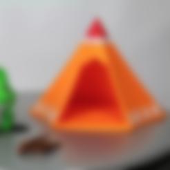Télécharger fichier 3D gratuit Tente grenouille de voyage, 86Duino
