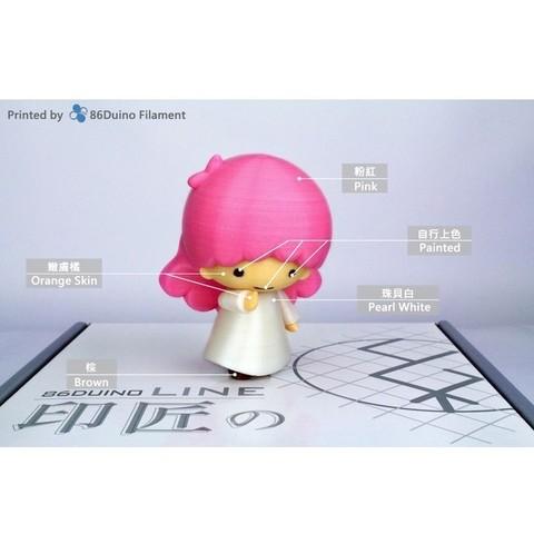 Download free 3D printer files Little Twin Stars / リトルツインスターズ / 雙子星 -- Lala(ララ), 86Duino