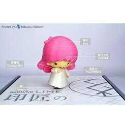 Descargar modelos 3D gratis Pequeñas estrellas gemelas / リトルツインスターズ / 雙子星 -- Lala(ララ), 86Duino