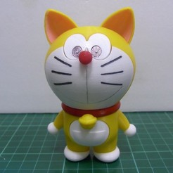 Download free STL file Doraemon original type / 哆啦A夢 /ドラえもん, 86Duino