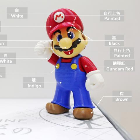 Capture d'écran 2016-12-23 à 09.30.30.png Download free STL file Super Mario complete set • 3D printer object, 86Duino