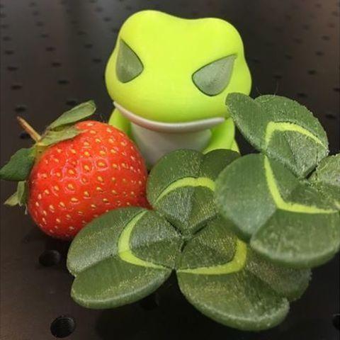 Free 3D printer file Travel Frog Creeping-Oxalis, 86Duino