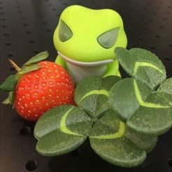 Free 3D print files Travel Frog Creeping-Oxalis, 86Duino