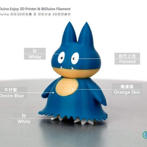 Download free 3D printer templates May's Munchlax, 86Duino