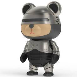 Download free STL file 86Duino RoboCop Bear, 86Duino