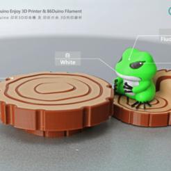 Télécharger fichier STL gratuit Meubles de grenouille de voyage, 86Duino