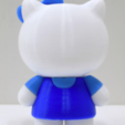 Download free STL file Hello Sorry / 這不是 This is NOT Hello Kitty • 3D printing template, 86Duino