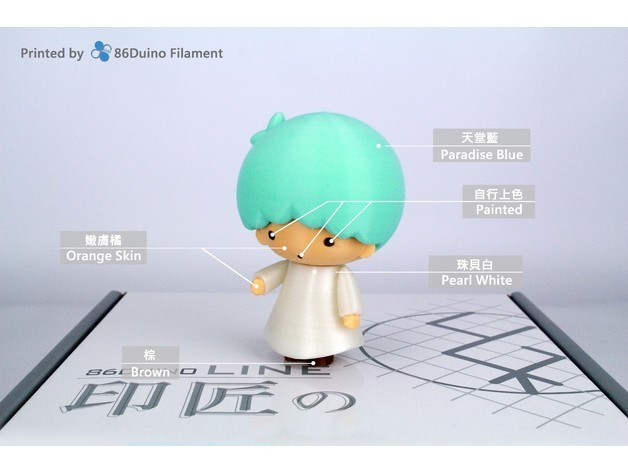 1feabeddf96e8fa1d1c1572f957d8931_preview_featured.jpg Download free STL file Little Twin Stars / リトルツインスターズ / 雙子星 -- Kiki(キキ) • 3D printing design, 86Duino