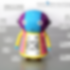 Free Dragon Ball / 全王 / Zeno 3D printer file, 86Duino