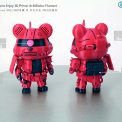 Capture d'écran 2018-07-02 à 15.11.55.png Download free STL file MOBILE SUIT GUNDAM  • 3D print design, 86Duino
