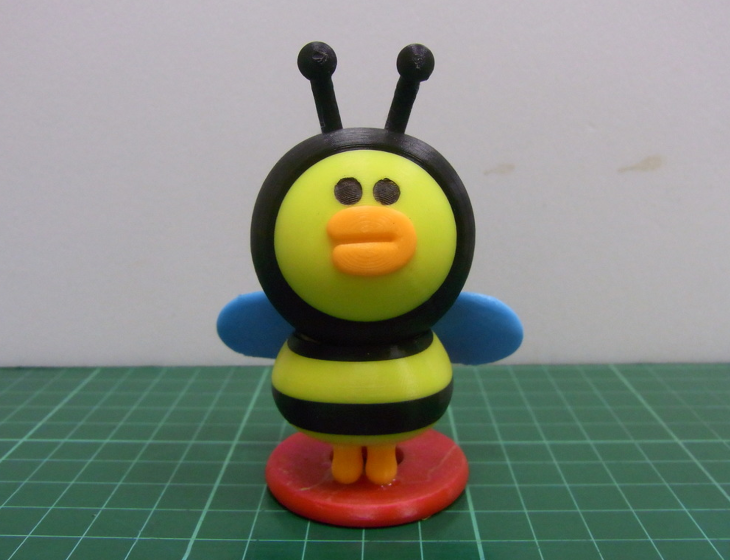 Capture d'écran 2017-07-28 à 19.00.17.png Download free STL file LINE FRIENDS -- HONEY BEE SALLY • Design to 3D print, 86Duino